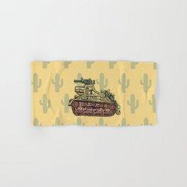 African desert corps tank WWII Hand & Bath Towel