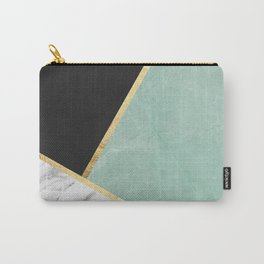Art with marble V Carry-All Pouch