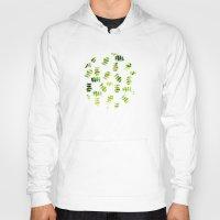 green pattern Hoodies featuring Green by zAcheR-fineT