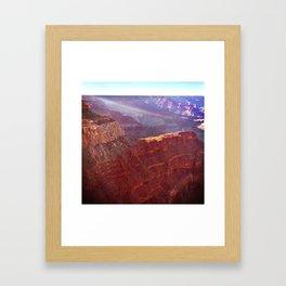 Hopi Point Framed Art Print