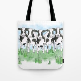 A Field of Cows Tote Bag