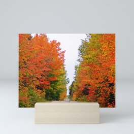 Rolling Through the Hills of Autumn Mini Art Print