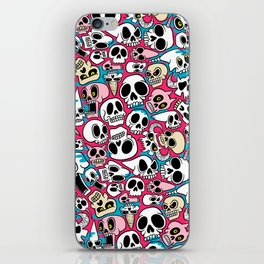 Skullz iPhone Skin