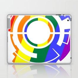 Ghost in the Rainbow Laptop & iPad Skin