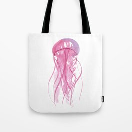 Ocean Collection: Fired up Jellyfish Tote Bag