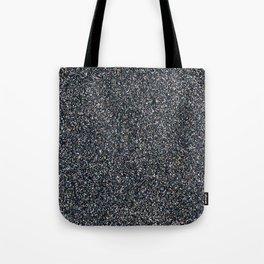 Graphite Glitter Tote Bag