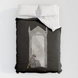 Mirror of Erise black Comforters