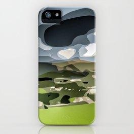 Peveril Castle. iPhone Case