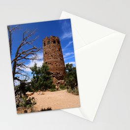 Desert View Watchtower - South Rim Grand Canyon Stationery Cards