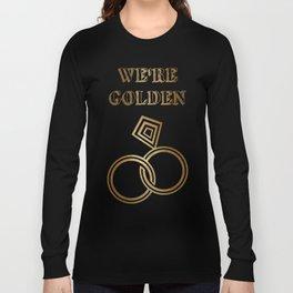 Golden Wedding Anniversary Long Sleeve T-shirt