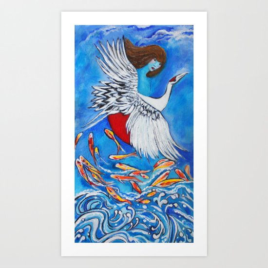 Shamayim Art Print