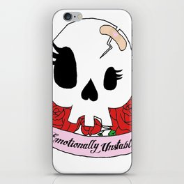 Emotionally Unstable iPhone Skin