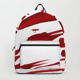 Blood paint splatters Backpack