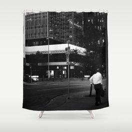 The Stock Exchange Shower Curtain