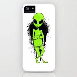 Martian Artist iPhone Case