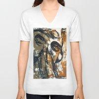 "pilot V-neck T-shirts featuring ""Pilot"" by Scott Lenaway"