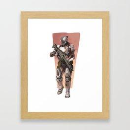 battle ready Framed Art Print