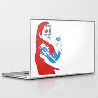 feminism Laptop & iPad Skins featuring Feminism by DebbieHughes