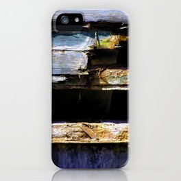 Battered House Boat 2 iPhone Case