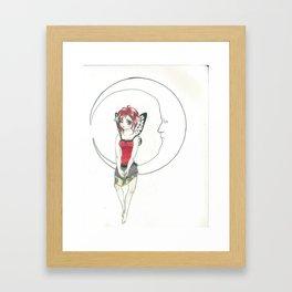 Moon Fairy Framed Art Print