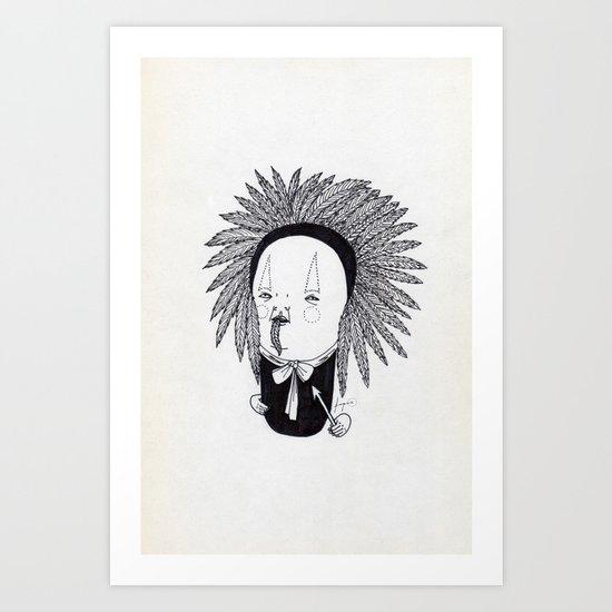 Apache Senior Art Print