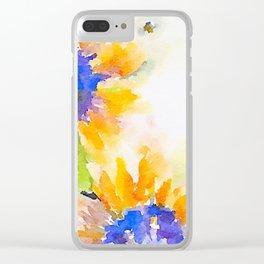 aprilshowers-213 Clear iPhone Case