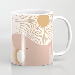 Yin Yang Blush - Sun & Moon Coffee Mug