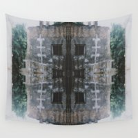 house Wall Tapestries featuring House by hecie