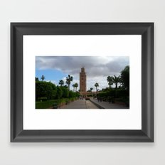 A Marrakesh Moment Framed Art Print