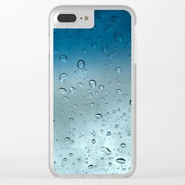 the rain is a beautiful thing Clear iPhone Case