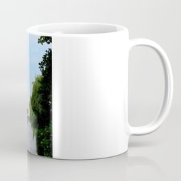 View of the River Thames from the Albert Bridge in London Coffee Mug