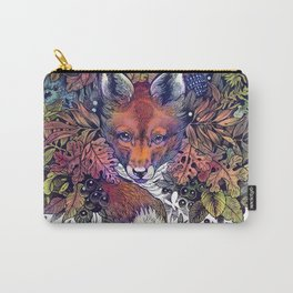 Hiding fox rainbow Carry-All Pouch