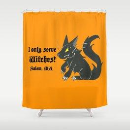 Loyal Familiar (Salem, MA) Shower Curtain