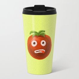 Funny Cartoon Tomato Travel Mug