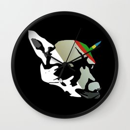 Fossil Dog Wall Clock