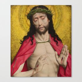 Christ Crowned with Thorns by Dirk Bouts Canvas Print