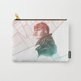 Amelia Earhart - Colourized Carry-All Pouch