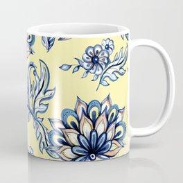 Watercolor Flower Pattern Art Prints Coffee Mug