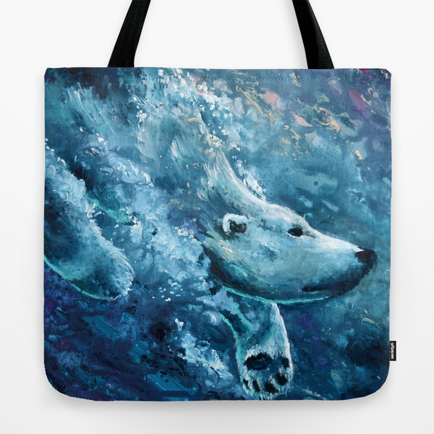 Cold Waters Tote Bag