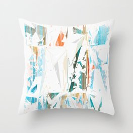 Splinters Throw Pillow