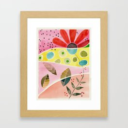 watercolor Framed Art Print