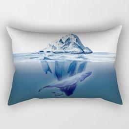 Belugas' Conversation Rectangular Pillow