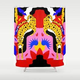 Cheetahs Shower Curtain
