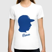 pee wee T-shirts featuring Pee Wee Reese by Eric J. Lugo