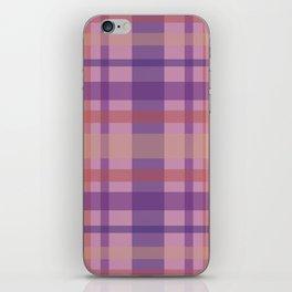 Violet Madras II iPhone Skin