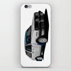 Golf rallycar iPhone & iPod Skin