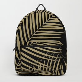 Palm Leaves - Gold Cali Vibes #2 #tropical #decor #art #society6 Backpack