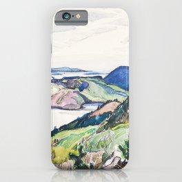 Franklin Carmichael - Lake La Cloche Region - Canada, Canadian Watercolor Painting - Group of Seven iPhone Case