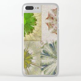 Grasshouse Configuration Flower  ID:16165-050526-69250 Clear iPhone Case