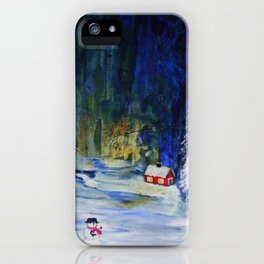 Out alone iPhone Case